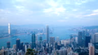 Hong Kong Day to Night Timelapse video