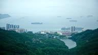 HD: Hong Kong, Deep Water Bay, panorama video