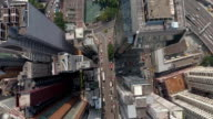 Hong Kong Down Town Top View video