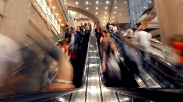 Hong Kong Escalator Time-Lapse video
