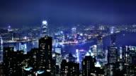 hong kong modern city High speed traffic video