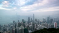 T/L PAN Hong kong morning video