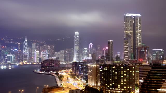 Hong Kong Night Time Lapse video