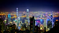 Hong Kong night video