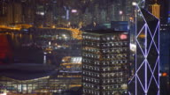 Hong Kong night video