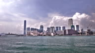 Hong Kong on water video