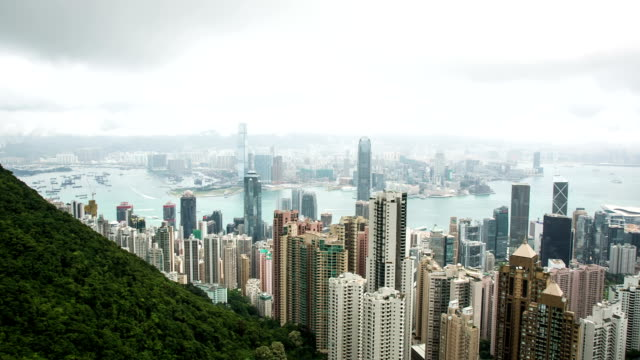 HD: Hong Kong panorama video