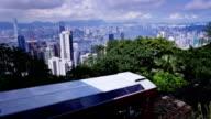 Hong Kong. Peak Tram. video
