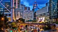 Hong Kong skyline. video