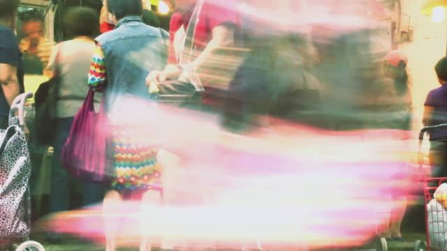 TIME LAPSE - Hong Kong Street Fish Market video