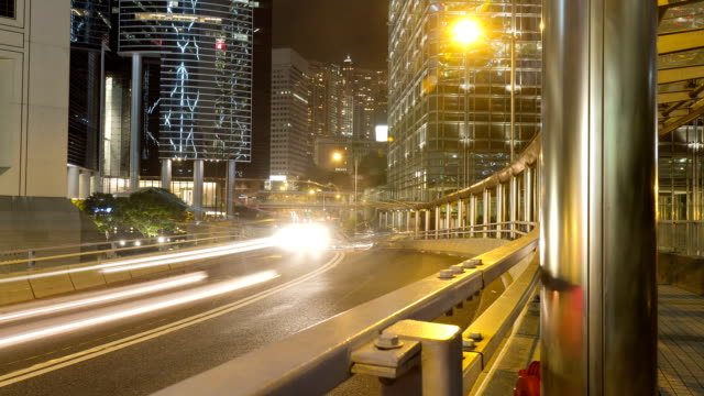 Hong Kong Street Time Lapse video