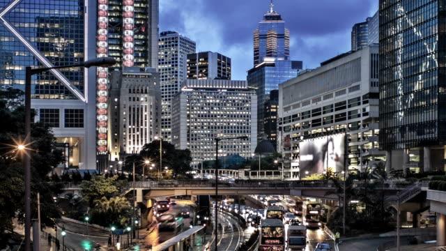 Hong Kong street view video