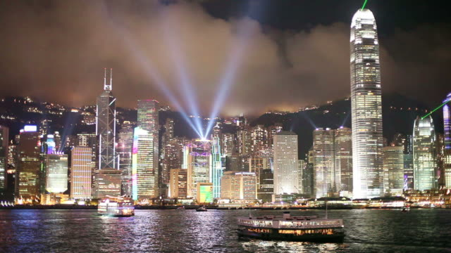 Hong Kong Symphony of Lights video
