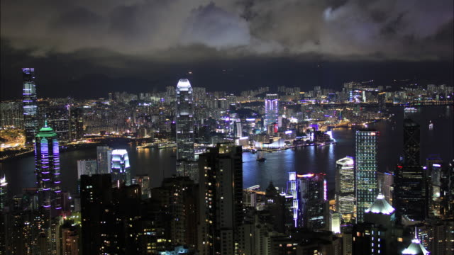 Hong Kong time lapse 4K video
