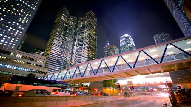 Hong Kong urban video