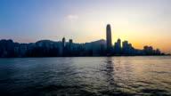Hong Kong,China-Nov 17,2014: The different view by sailing on the sea, Hong Kong,China video