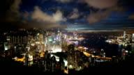 HD VDO : Hongkong city at night video