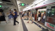 Hongkong Subway Slow-motion video