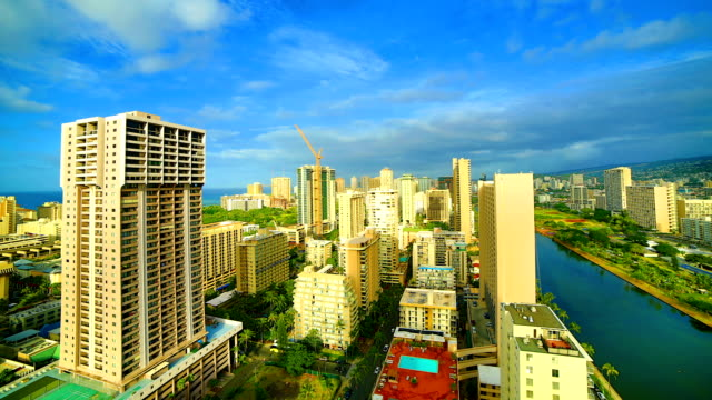 Honolulu: day time lapse video