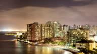 Honolulu Time Lapse Night video