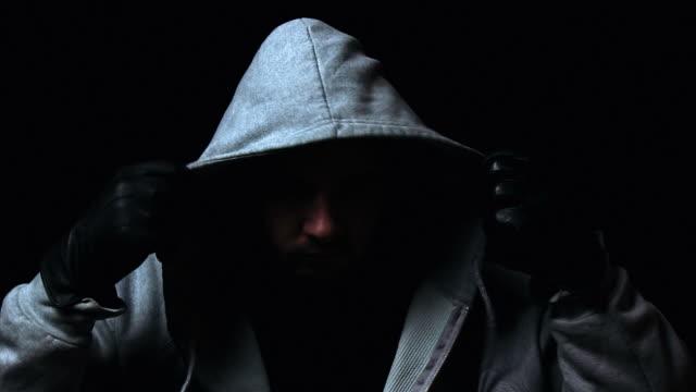 Hooded killer video