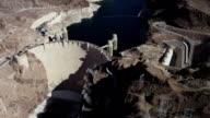 Hoover Dam aerial video video