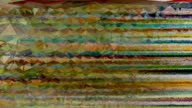 TRANSCENDENT STRAIGHT FLOW : horizontal, colorful (LOOP) video