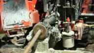 Horizontal Drilling Rig Pulling Water Main video