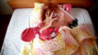 Horse head mask video