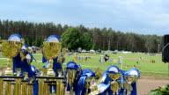 horse racing cups awards video