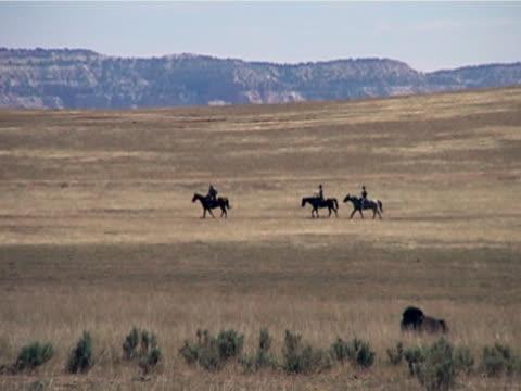 Horseback Riding Cross The Range video