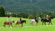 HD: Horseback Riding Trail video
