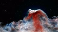 Horsehead Nebula in the constellation of Orion video