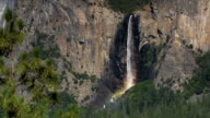 Horsetail Falls in Yosemite National Park video