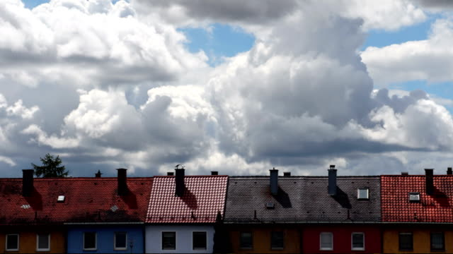 Hoses under Clouds. Time Lapse. video