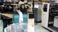 Hosiery, production and packaging video