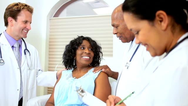 Hospital Consultant Treating Senior Patient video