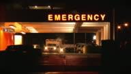 Hospital, emergency room. Ambulance. video
