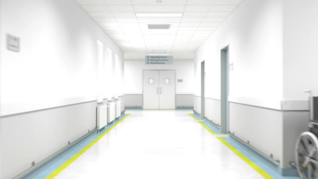 Hospital Floor - Entering The Operating Room video