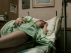 Hospital Patient in Bed video