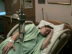 Hospital Patient with IV 3 video