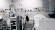 Hospital postoperative room video