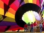 Hot Air Balloon Inflation video
