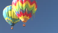 Hot Air Balloons Flying video