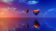 Hot Air balloons video