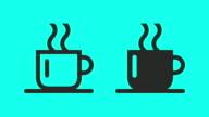 Hot Coffee - Vector Animate video