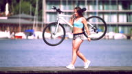 hot cyclist video