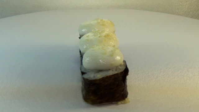 Hot roll with eel video
