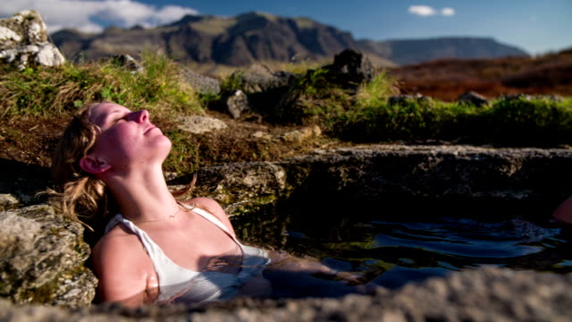 Hot Spring in Iceland video