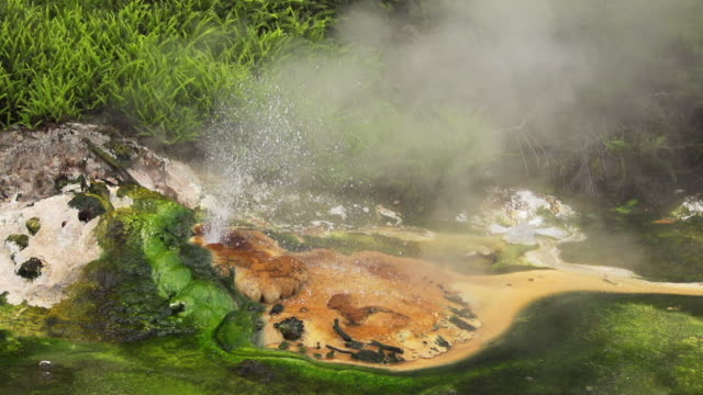 SLOW MOTION : Hot Spring video